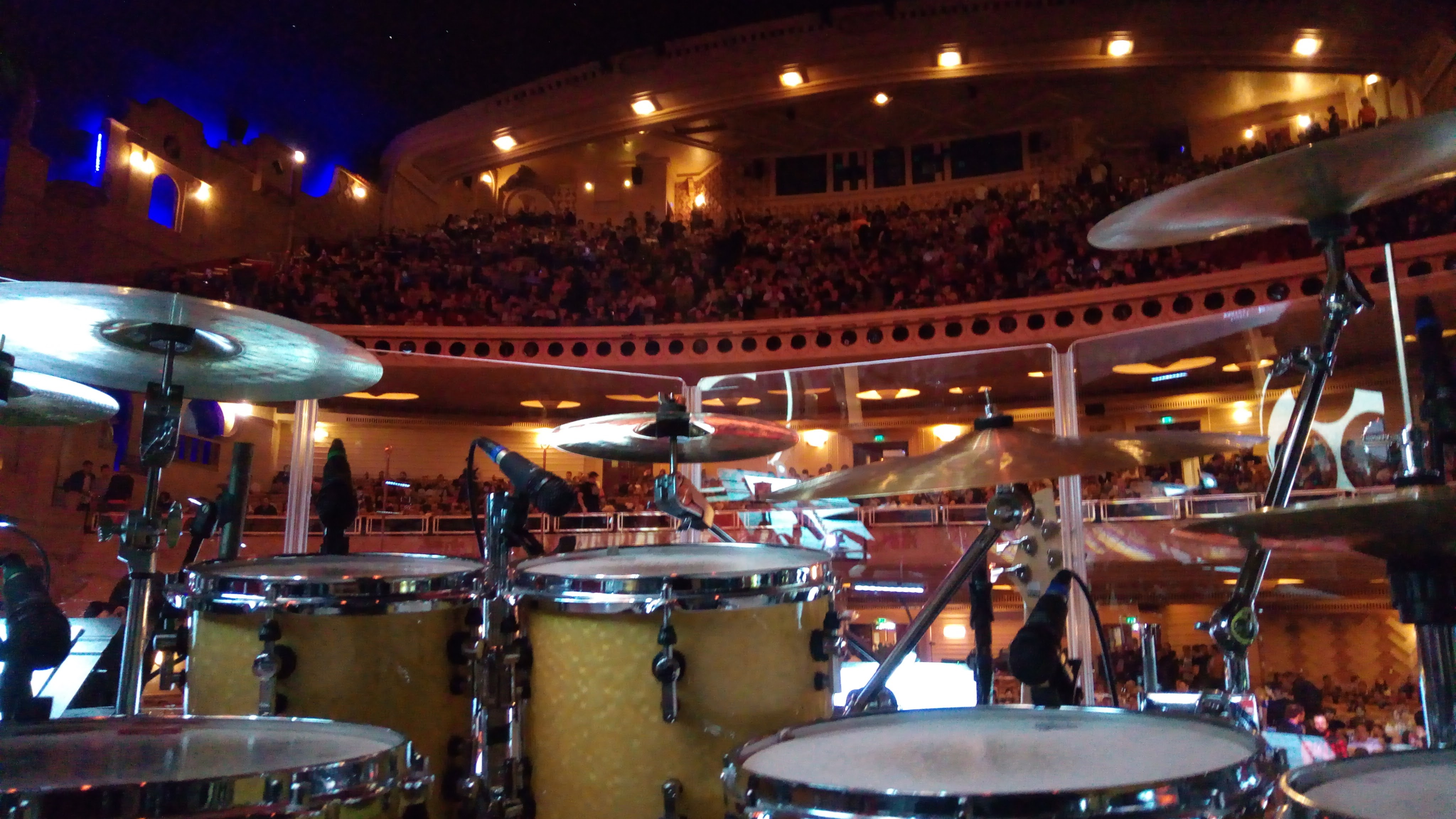 Drumset, Le Grand Rex, Paris
