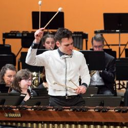 VIRGILE HERBEPIN SOLOIST - CONCERTO FOR MARIMBA AND ORCHESTRA - FRENCH PREMIERE